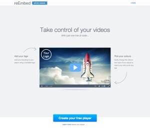 reEmbed – Custom YouTube Video Player