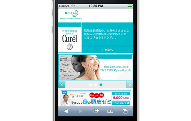 http://www.kao.co.jp/curel/